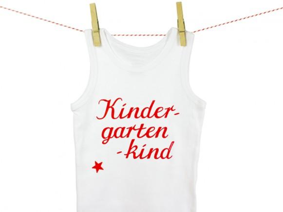krima & isa Bügelbild Kindergartenkind