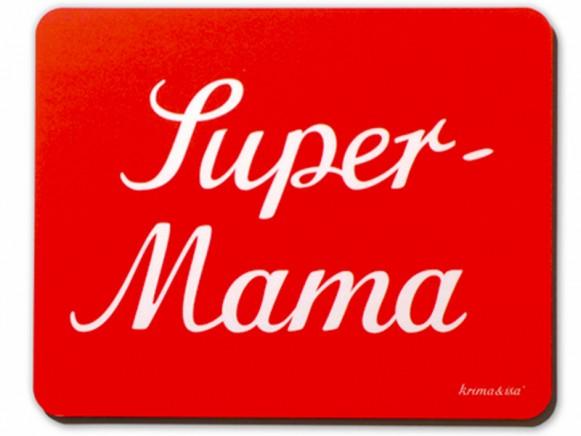 krima & isa Mousepad Super Mama