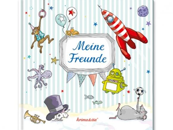 krima & isa Meine Freunde Buch AQUA