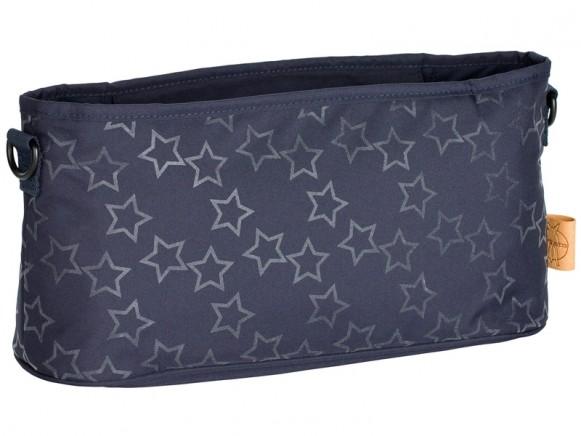Lässig Kinderwagentasche REFLECTIVE STAR dunkelblau