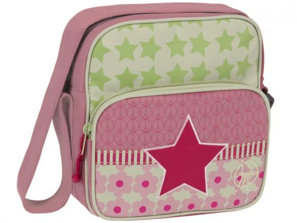 Lässig mini square bag Starlight magenta
