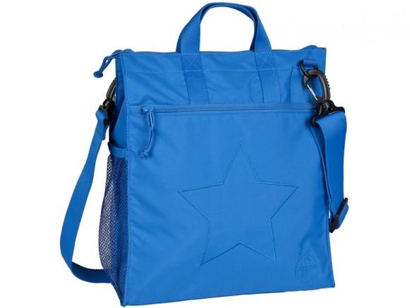 Lässig Wickeltasche Buggy Bag Regular Star blau