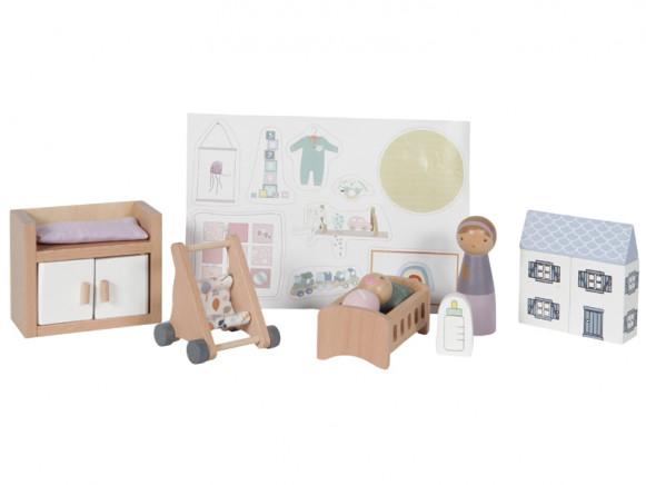 Little Dutch Puppenhaus BABYZIMMER