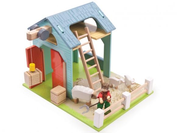 Le Toy Van Blaue Farm