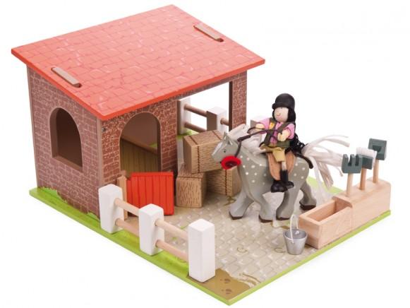 Le Toy Van Pferdestall
