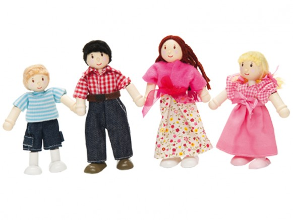 Le Toy Van Puppen-Familie