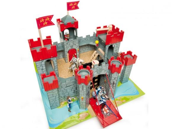 Le Toy Van Ritterburg Lionheart Castle
