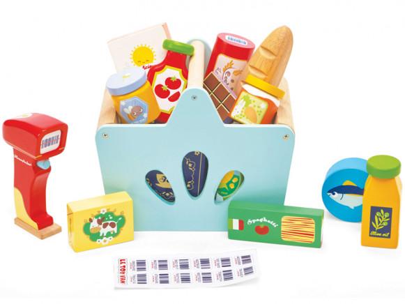 Le Toy Van Einkaufs-Set mit Scanner