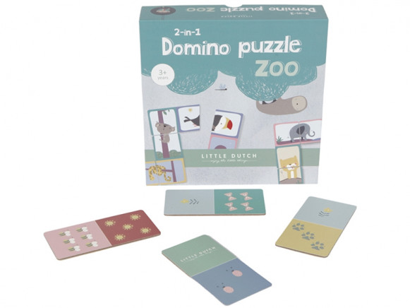 Little Dutch Domino Puzzle ZOO