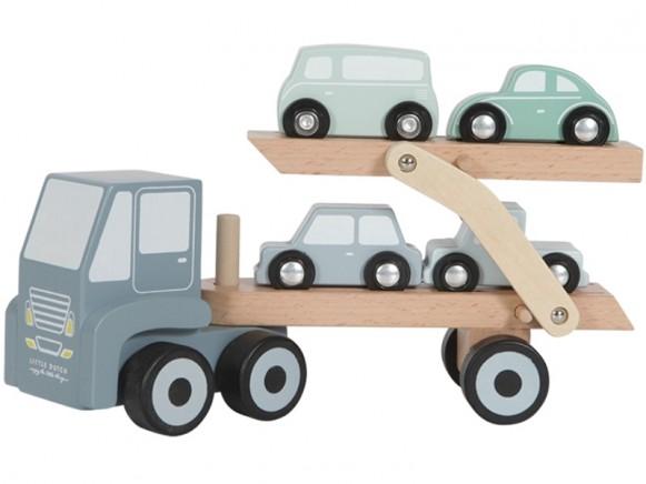 Little Dutch Holz Auto-Transporter