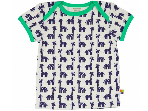 loud + proud T-Shirt Giraffe ultramarin