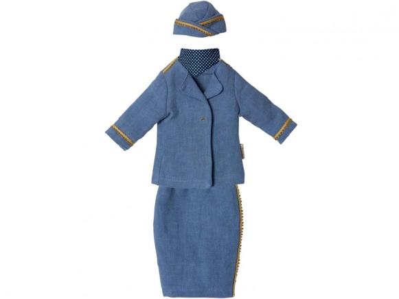 Maileg Ginger Mama Puppenkleidung STEWARDESS-UNIFORM
