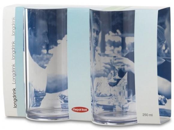 Mepal Longdrinkglas SAN 250 ml