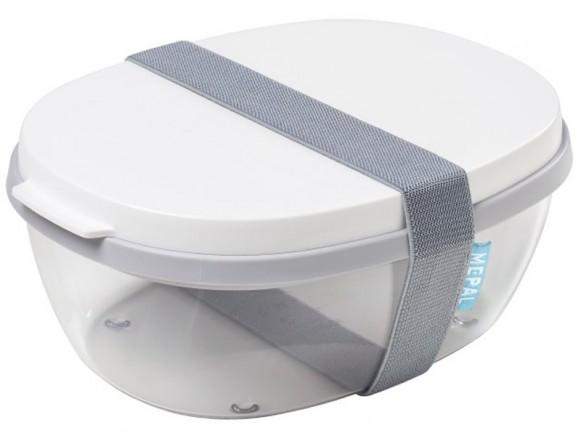 Mepal Salatbox ELLIPSE weiß