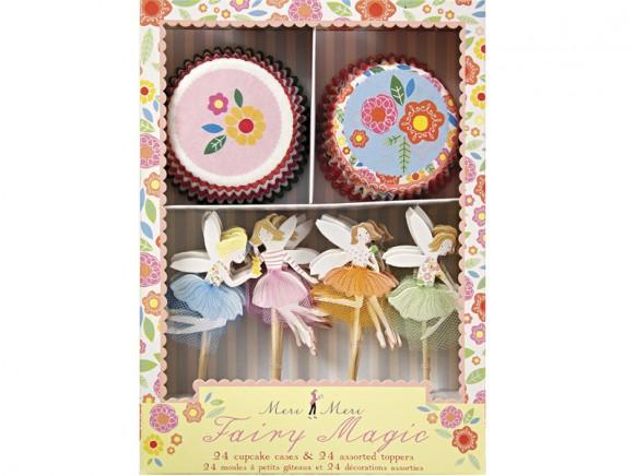 Meri Meri Magisches Feen Cupcake Set