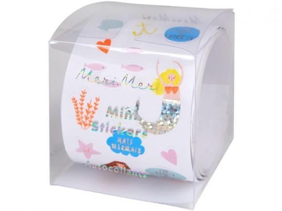 Meri Meri 500 Sticker MEERJUNGFRAU