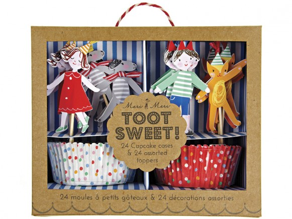 Meri Meri Cupcake Set TOOT SWEET SPOTTY
