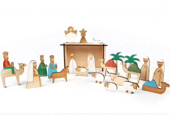 Meri Meri Adventskalender KRIPPE