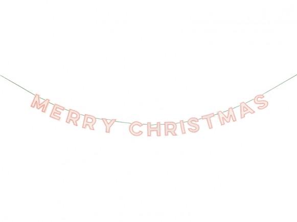 Meri Meri Filzgirlande MERRY CHRISTMAS