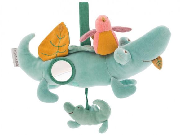 Moulin Roty Aktivitäts-Spielzeug KROKODIL