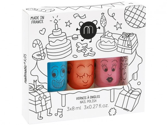 nailmatic kids Nagellack 3er Set PARTY