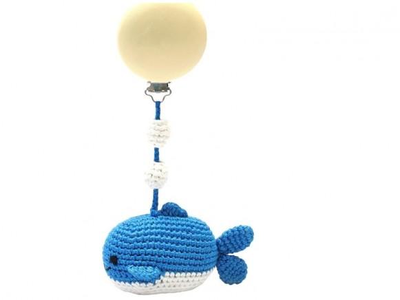 natureZOO Kinderwagenanhänger MR WAL blau