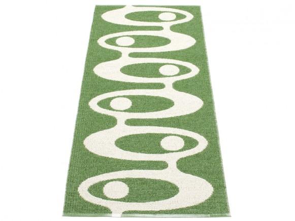 Pappelina Teppich Alve in grün
