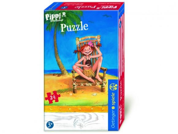 Pippi Langstrumpf Puzzle mit 24 Teilen