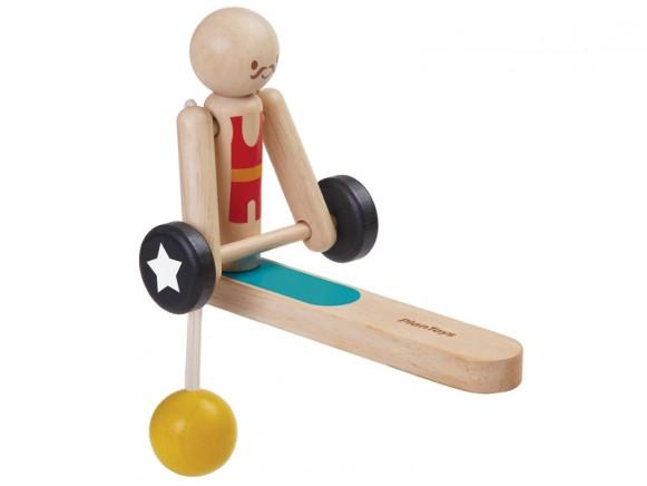 PlanToys Gewichtheber Akrobat