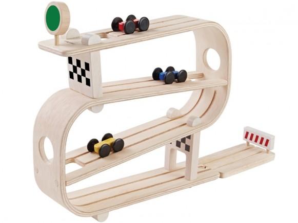 PlanToys Auto-Rennbahn