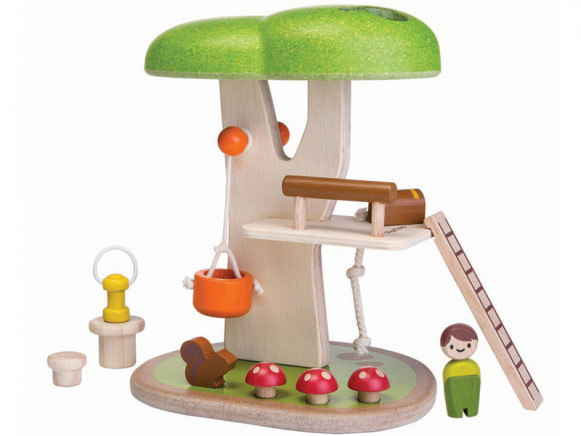 PlanToys Holz-Spielset BAUMHAUS