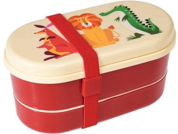 Rex London Bento Box Colourful Creatures