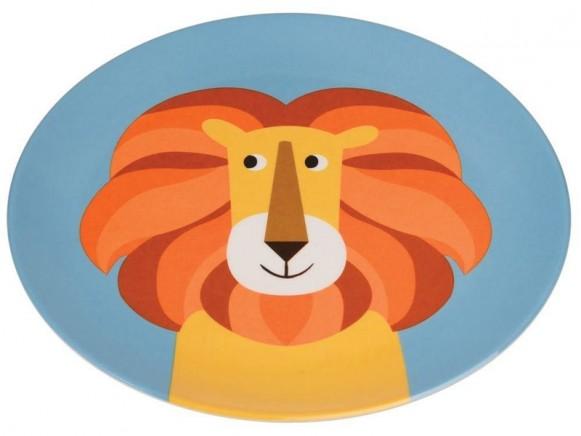 Rex London Melaminteller Löwe
