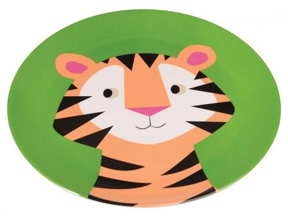 Rex London Melaminteller Tiger