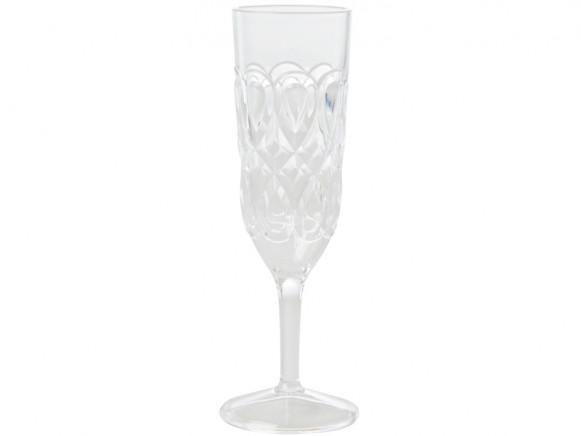 RICE Champagnerglas KLAR