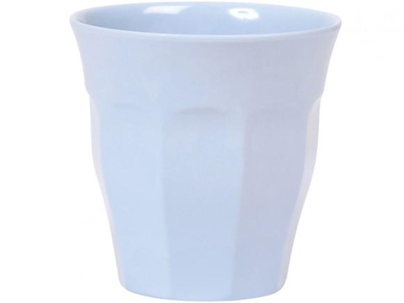 RICE Becher Melamin blau