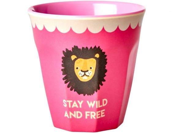 RICE Becher PINK LION