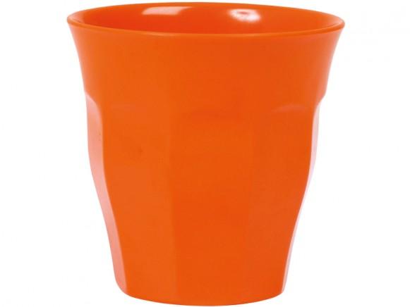 RICE Becher Melamin orange