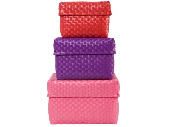 Pink-lavendel-rotes Boxen-Set von RICE