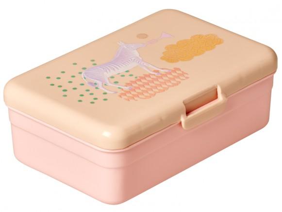 RICE Lunchbox Tiermotiv Mädchen