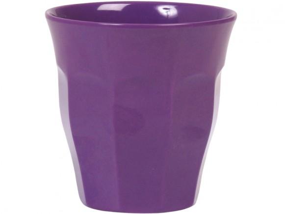 RICE Becher Melamin violett