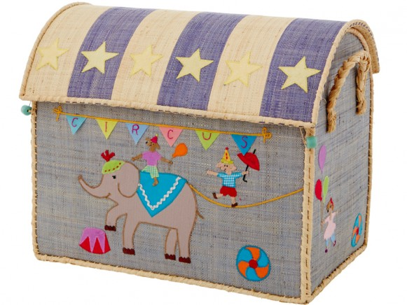 RICE Spielzeugkiste Zirkus (medium)