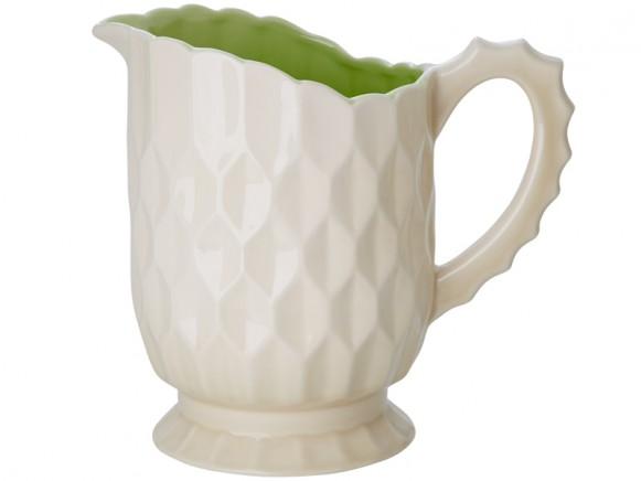 Große RICE Keramik-Vase mit Griff