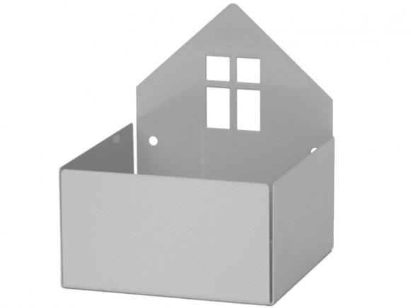 Roommate Regal Box HAUS grau