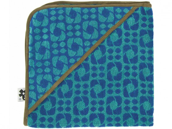 Badehandtuch in blau von Sebra