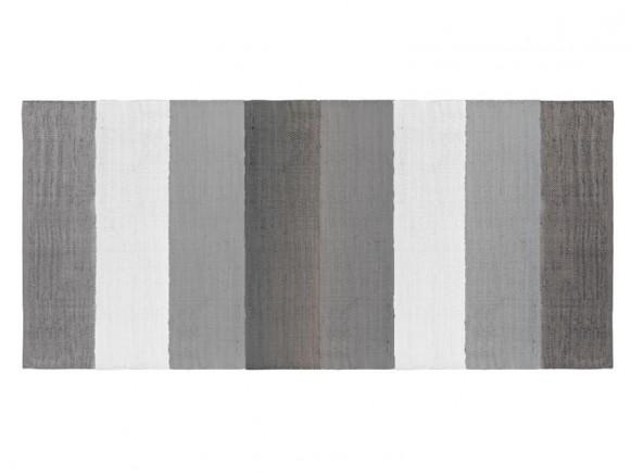 Sebra Gewebter Teppich - grau