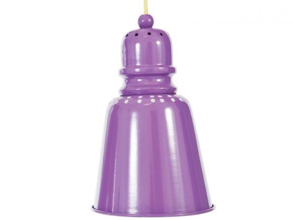 Sebra Hängelampe in violett