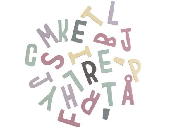 Sebra Magnetbuchstaben Mädchen gemischt