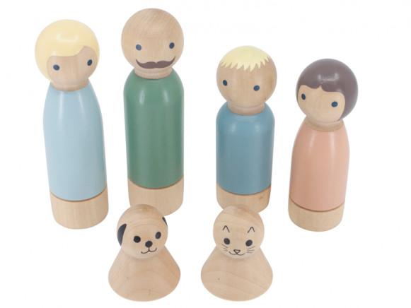 Sebra Puppenhaus PUPPENFAMILIE