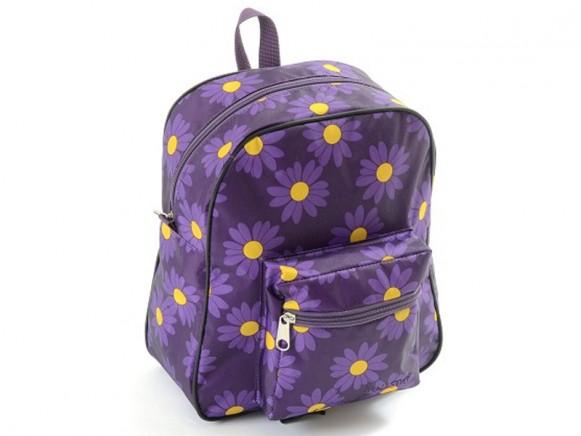 Smallstuff Rucksack Gänseblümchen violett